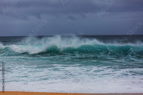 Fotobehang Water Wave