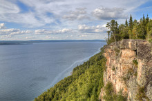 Sleeping Giant Is A Large Provincial Park On Lake Superior North Of Thunder Bay In Ontario