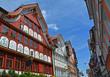 Appenzell Dorf, typische Fassaden