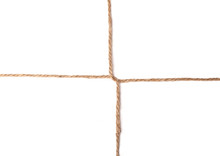 Twine Cross Knot Texture Isola...
