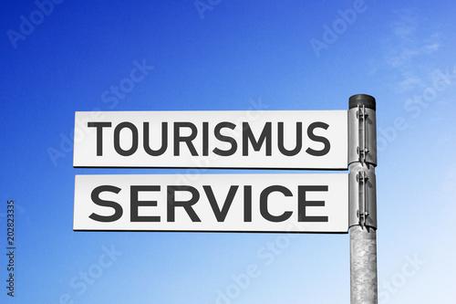 Fotografia  Wegweiser Tourismus-Service