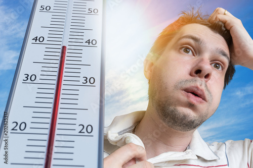 Fotografie, Obraz  Hot weather concept