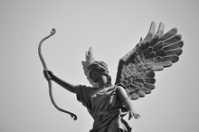 Winged Angel Statue In Harbin,...