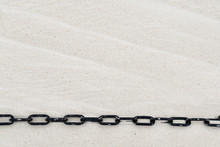 Stretched Black Chain On Winds...