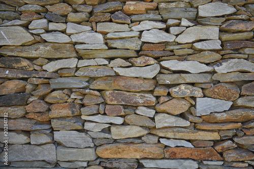 muro de pedra 1 Fototapet