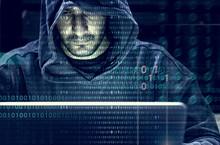 Hacker Working On Computer Cyb...