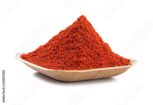 Photo  Red Chilli Pepper Powder Also Know as Mirchi, Mirchi Powder, Lal Mirchi, Mirch o