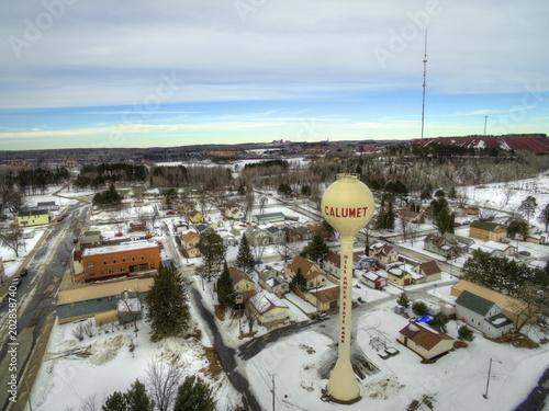 Fényképezés Calumet is a small Mining Town on the Iron Range of Minnesota.