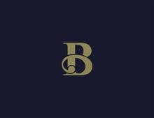 Letter B Luxury Logo Template