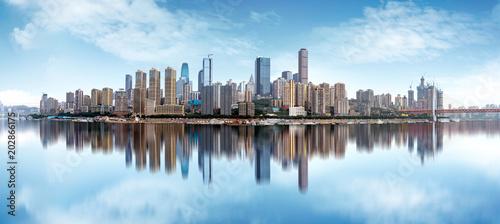 Deurstickers Buenos Aires China Chongqing dimensional traffic