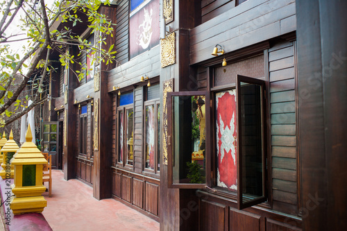 Fotografie, Obraz  Outdoor thai resort style