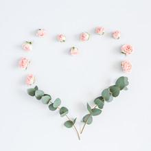 Flowers Composition. Heart Sym...