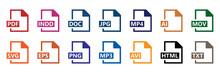 Symbol-Set - Dateiformate