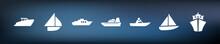 Symbol-Set - Boote