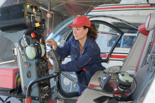 Female Aeroplaneworker