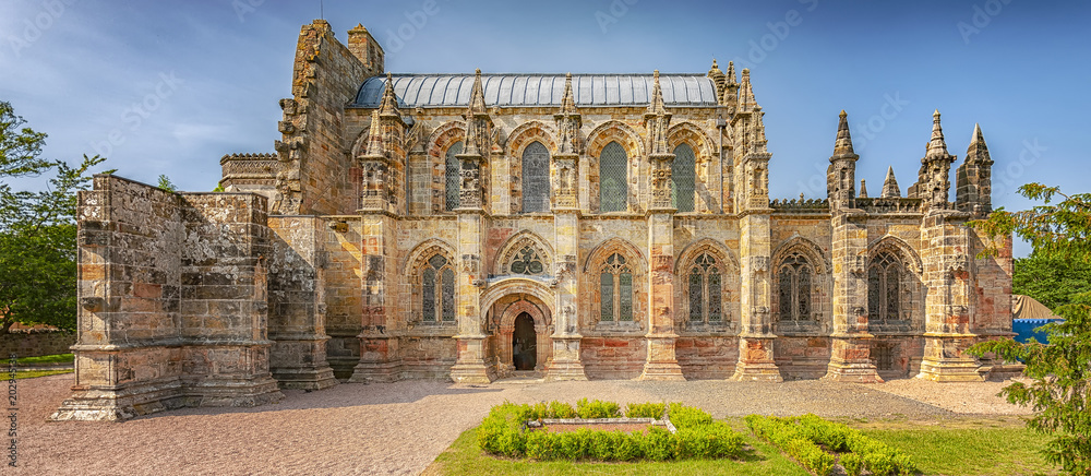 Fototapety, obrazy: Rosslyn Chapel Panorama