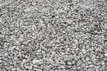 Gray Gravel Texture Background...