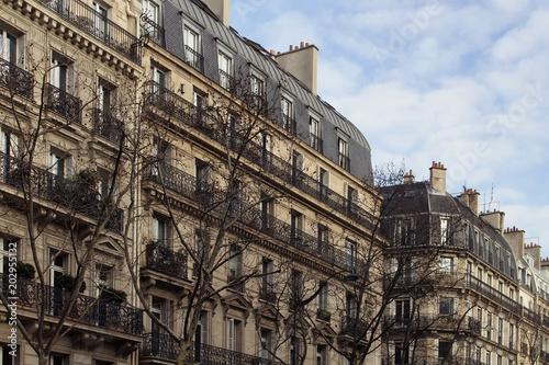 Buildings in Saint-Germain area of Paris Poster