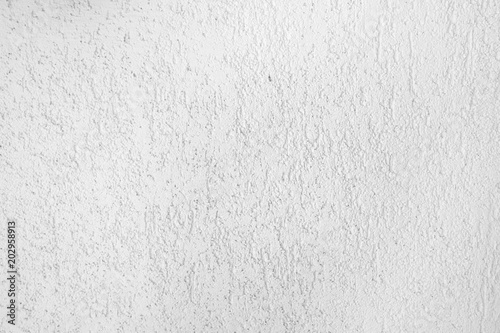 White Stucco Texture On The Wall Plaster