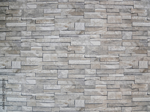 Photo sur Toile Brick wall real tiles floor texture background, Tiled pattern floor.