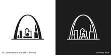 St Louis - Gateway Arch. Famou...