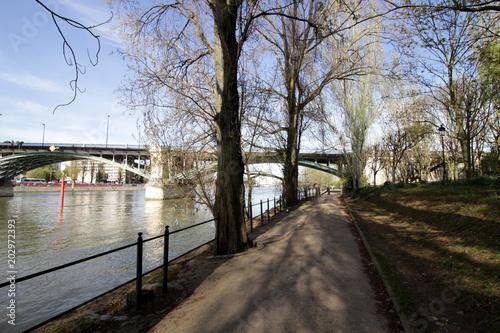 Levallois-Perret - Pont de Levallois Canvas Print