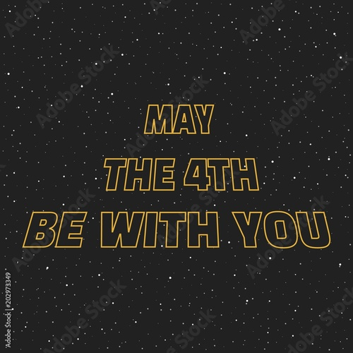 Photo  May the 4th be with you
