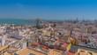Küste von Cádiz mit Kathedrale