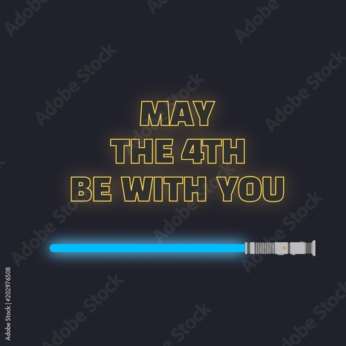 Fotografía  May the fourth be with you