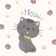 cute cat vector