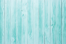 Blue Aged Wooden Table, Painted Wood Rustic Surface