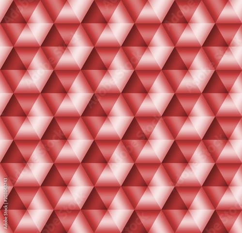 kolekcje-ilustracji-seamless-geometryczny-czerwony-3d-wzorzec-3d-ilustracja-jasny-tlo