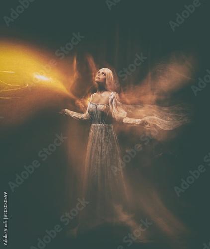 Fotografie, Tablou The legend of the Banshee fairy