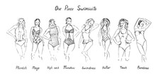 Portrait Of Girls In  Plandzh,...
