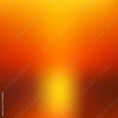 Recess Fitting Brick Abstract blurred burned background. Vector