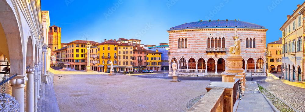 Fototapety, obrazy: Piazza della Liberta square in Udine landmarks view