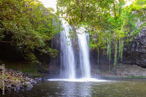 Murais de parede Killen Falls - beautiful waterfall near Byron Bay, New South Wales, Australia