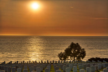 Sunset At Fort Rosecrans Natio...