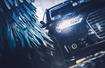 Modern Brush Car Wash