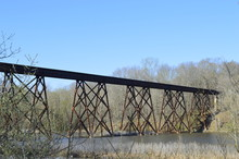 Landscape Photo Of A Rusty Tra...
