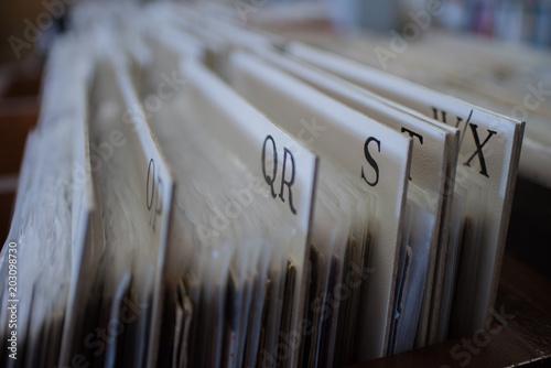 Keuken foto achterwand Muziekwinkel QR