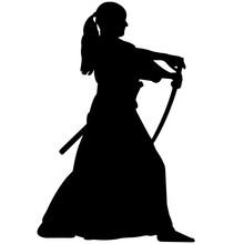 Iaido Silhouette, Iaido Sword ...