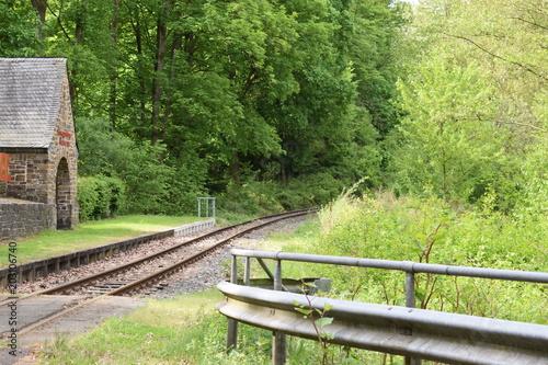 In de dag Kanaal Gleise der Meterspur, Brohltalbahn