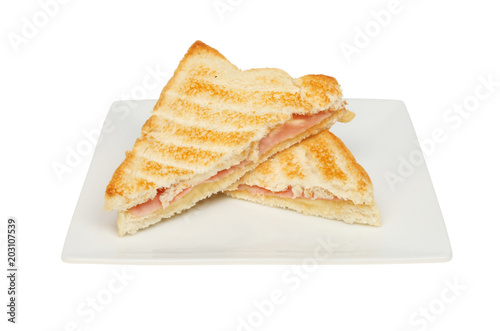 Toasted cheese and ham sandwich Tapéta, Fotótapéta