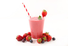 Smoothie Fruit Or Milkshake