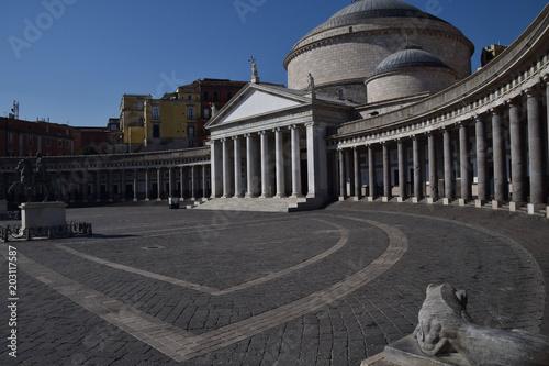 Fényképezés  napoli, piazza plebiscito