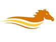Pferd, Pferderennen - Logo, Emblem