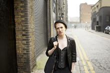 Portrait Of A Young Fashion Designer