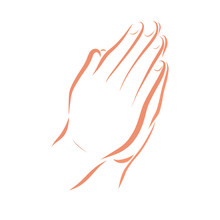 Hands Of A Christian Praying T...