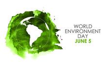 World Environment Day Concept....